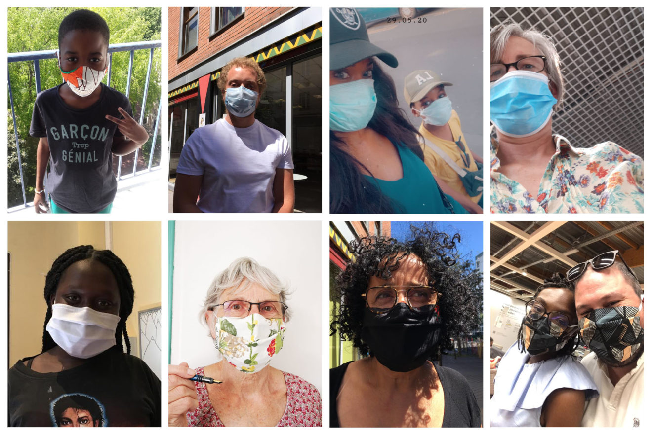 collage photos masques 4